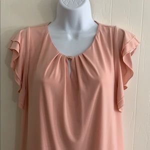 Ivanka Trump top XL peachy pink